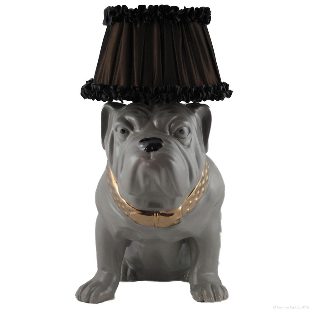 Bulldog Table Lamp - Home Décor - Online Shop