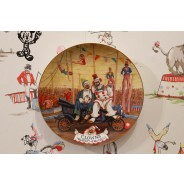 Clowns The Heart Of The Circus Plate