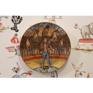 Gunther Gebel-Williams Circus Plate