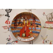 Lou Jacobs Master Of Mirth & Laughter Circus Plate