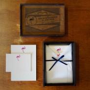 The Sophisticated Flamingo Writing Set
