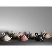 Large Swan Vase