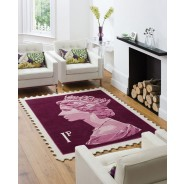 The Stamp Rug Wall Hanging
