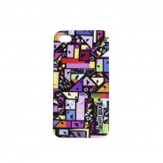 Black Tangram Print Iphone Case