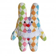 Medium Pierrot Rabbit Cushion
