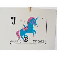 Unicycling Unicorn
