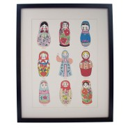 Hand Decorated Russian Dolls