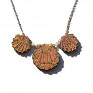 Trio Shell Necklace