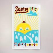 Sunny Days Tea Towel
