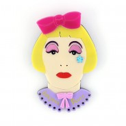 Grayson Perry Brooch By Lou Taylor