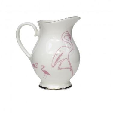 Alice's Flamingo Milk Jug