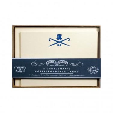 A Gentleman's Correspondence Cards