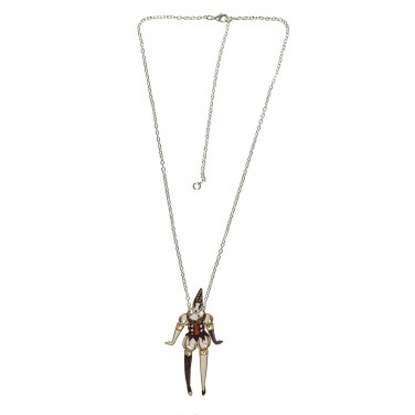 The Harlequin Clown Necklace