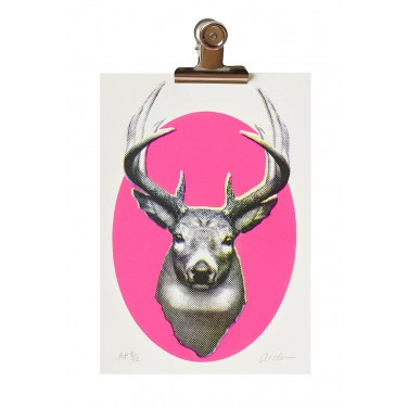 Neon Pink Stag