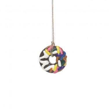 Grand Choco Donut Necklace