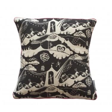 Enter The Magician Print Cushion